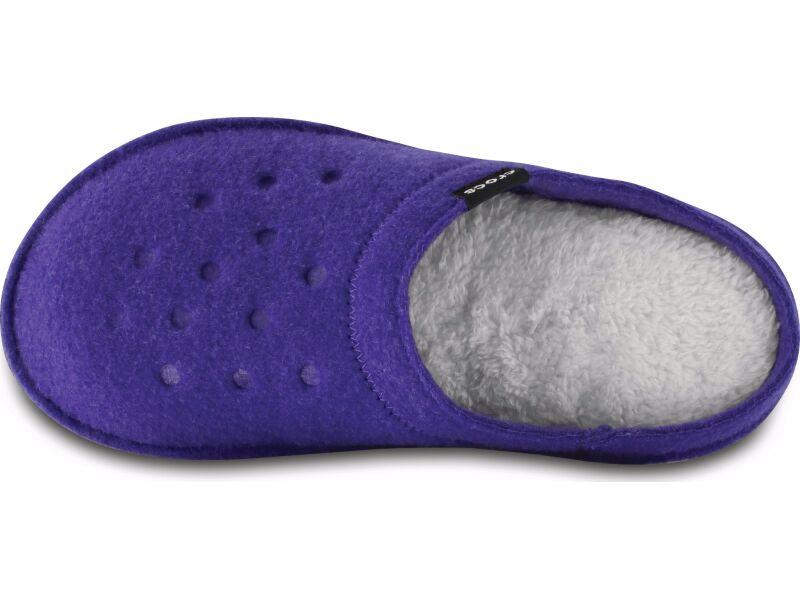 Crocs™ Classic Slipper Ultraviolet/Oatmeal