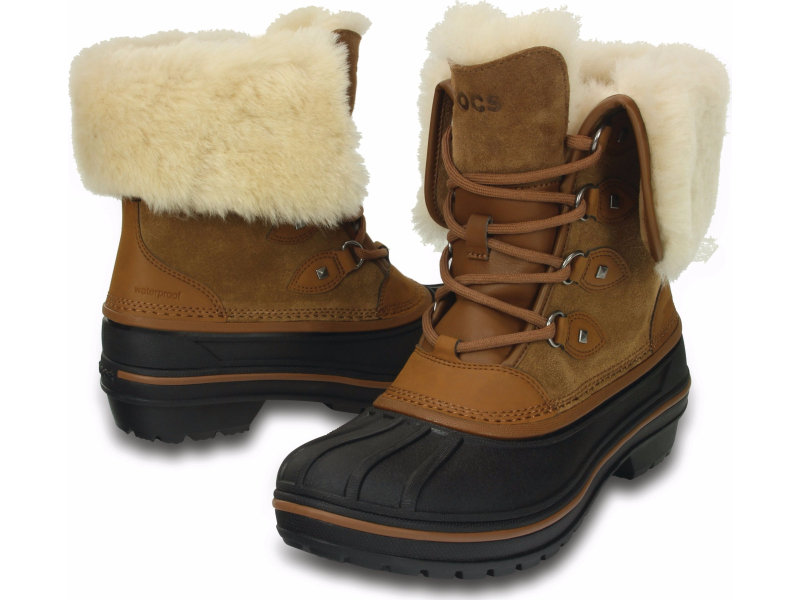 Crocs™ AllCast II Luxe Boot Women's Wheat