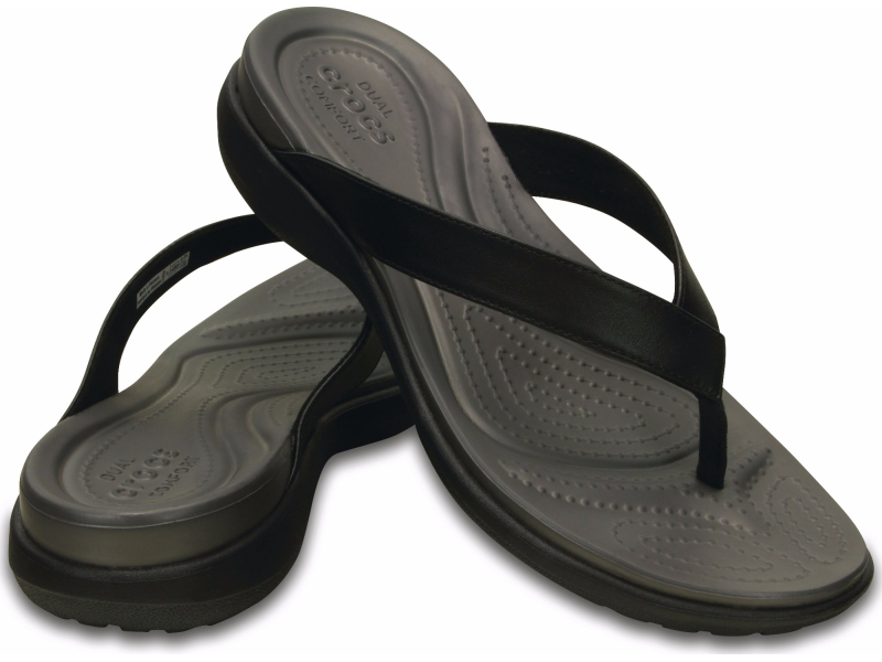Crocs™ Capri V Flip Black/Graphite