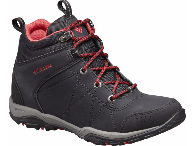 Columbia Fire Venture Mid Waterproof Black/Burnt Henna