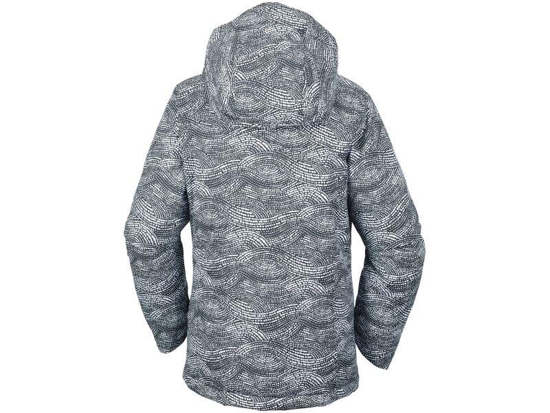 Columbia Alpine Free Fall Jacket Black Dotty Mogul Print