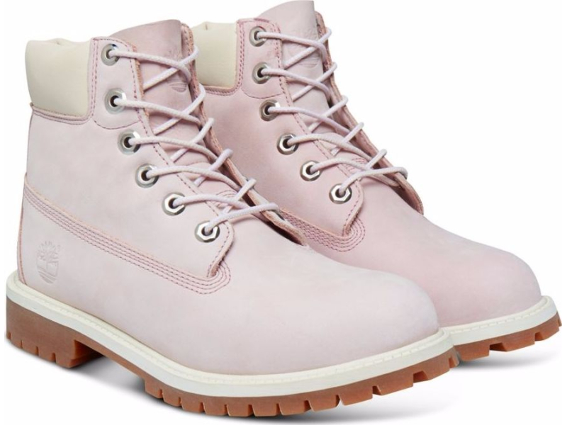 Timberland 6 In Premium Boot Junior's Lavender Nubuck