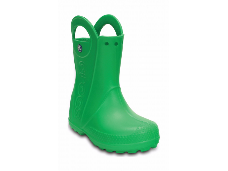 Crocs™ Kids' Handle It Rain Boot Grass Green