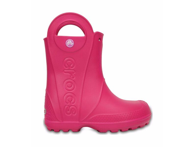 Crocs™ Kids' Handle It Rain Boot Candy Pink