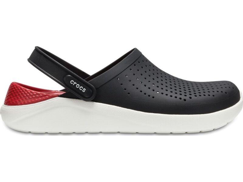 c9eb7b0cf ... Crocs™ LiteRide Clog Black White ...