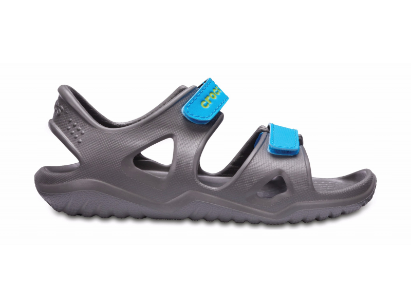 Crocs™ Kids' Swifwater River Sandal Slate Grey/Ocean