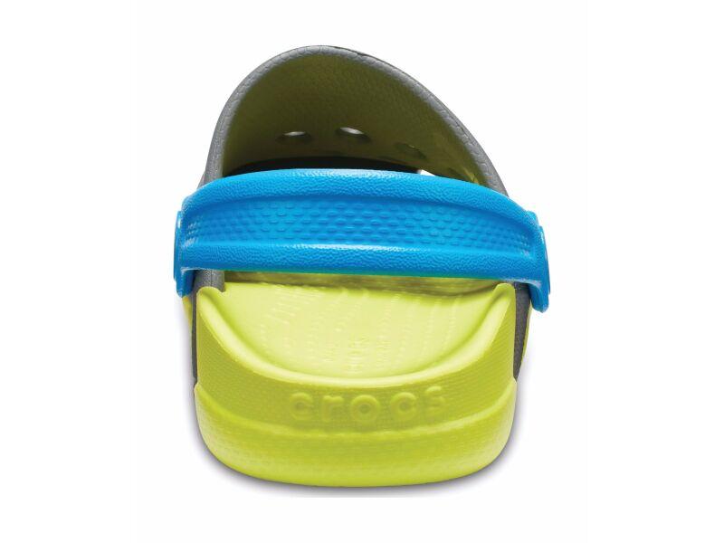 Crocs™ Electro III Clog Slate Grey/Tennis Ball Green