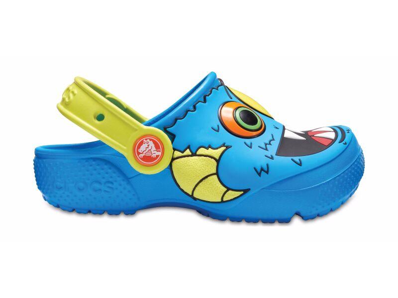 Crocs™ Funlab Clog Ocean/Tennis Ball Green