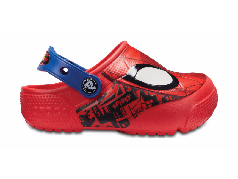 Crocs™ Funlab SpiderMan Lights Clog Flame
