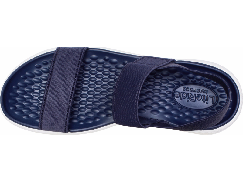 Crocs™ Women's LiteRide Sandal Navy/White
