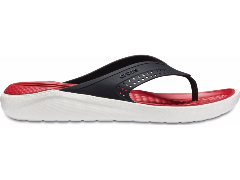 Crocs™ LiteRide Flip Black/White