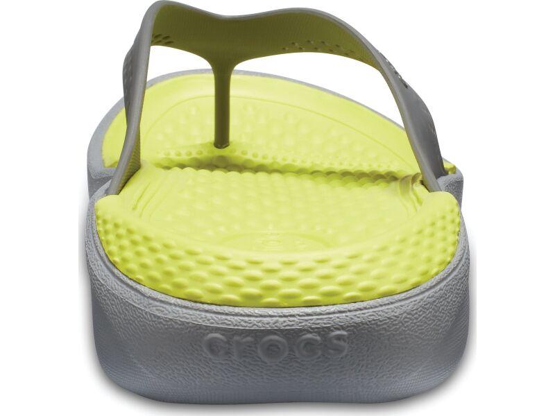 Crocs™ LiteRide Flip Slate Grey/Light Grey