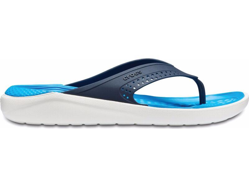 Crocs™ LiteRide Flip Navy/White