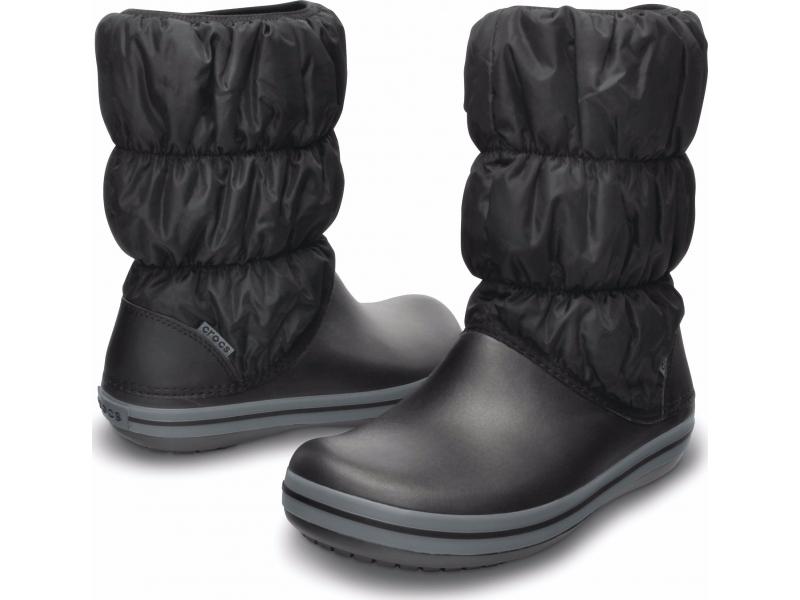 Crocs™ Winter Puff Boot Черный/Серый