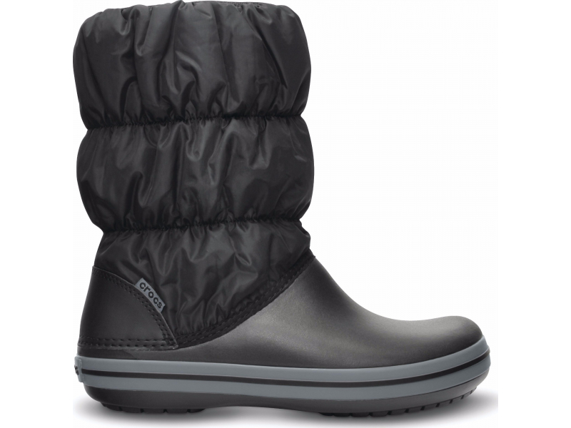 Crocs™ Winter Puff Boot Black/Grey