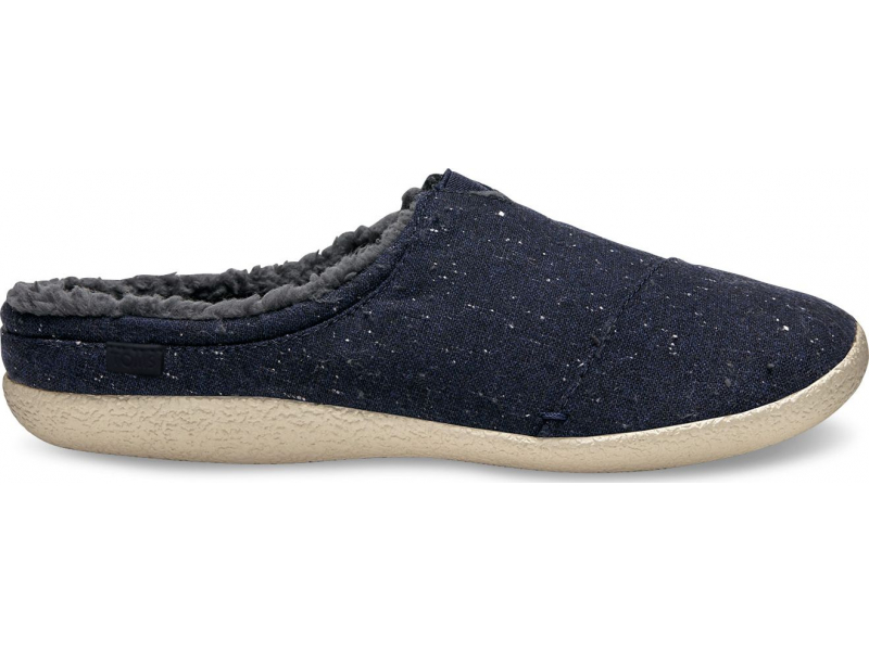 TOMS Wool Lining Men's Berkeley Navy Fleck