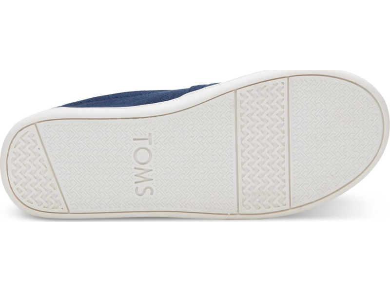 TOMS Canvas Junior's Core Alpargata Navy