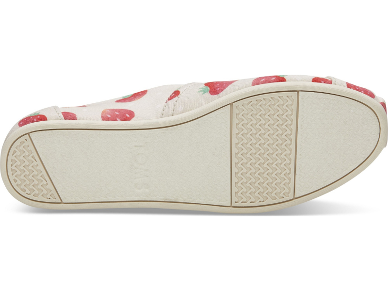 TOMS Strawberry And Cream Women's Alpargata Birch