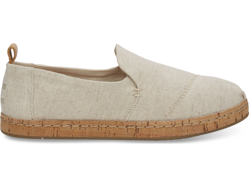 TOMS Oxford Women's Deconstructed Alpargata Cork Natural