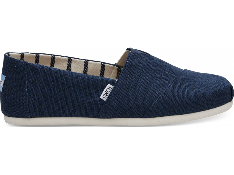 TOMS Heritage Canvas Men's Alpargata Majolica Blue