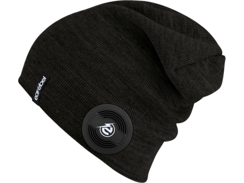 EAREBEL Lifestyle Slim Beanie Black