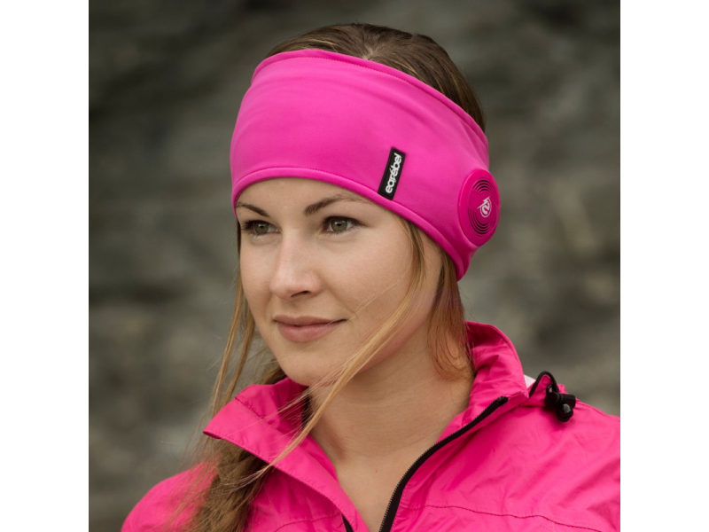 EAREBEL Sport Performance Headband Pink