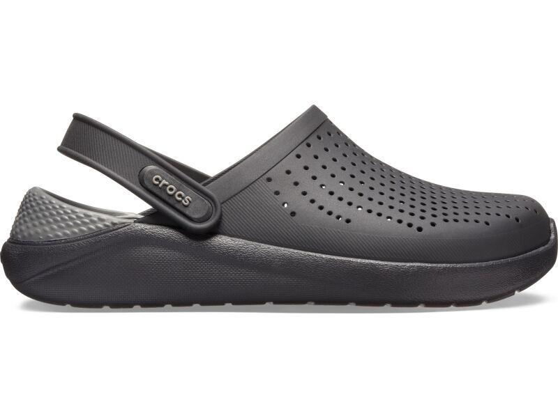 Crocs™ LiteRide Clog Black/Slate Grey