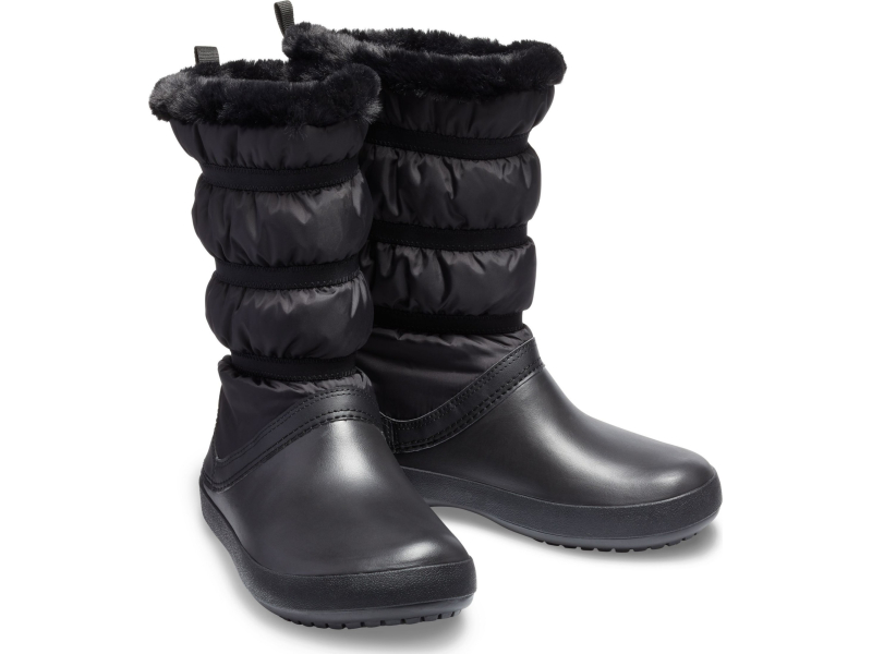 Crocs™ Women's Crocband Winter Boot Black/Black