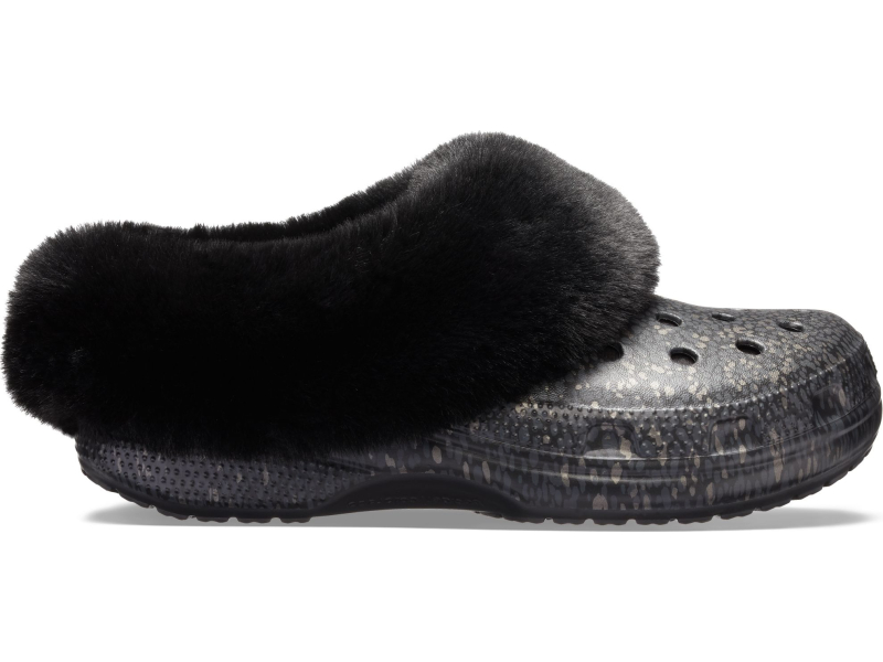 Crocs™ Classic Mammoth Luxe Radiant Clog Black