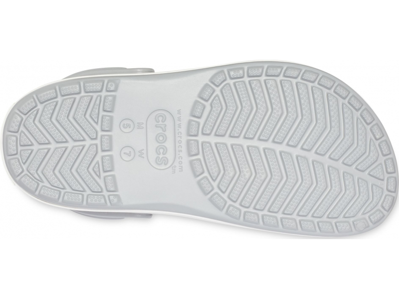 Crocs™ Crocband Platform Clog Light Grey/Rose