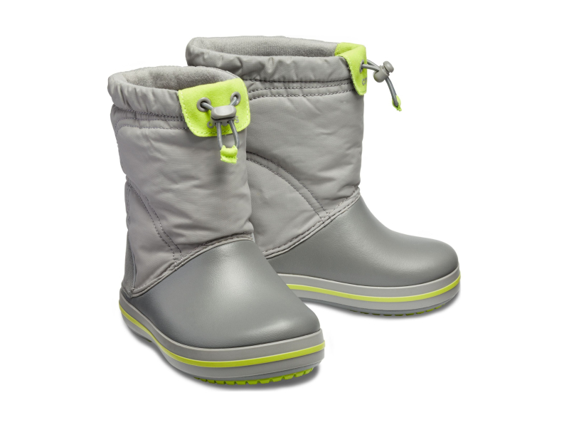 Crocs™ Kids' Crocband Lodgepoint Boot Smoke/Graphite