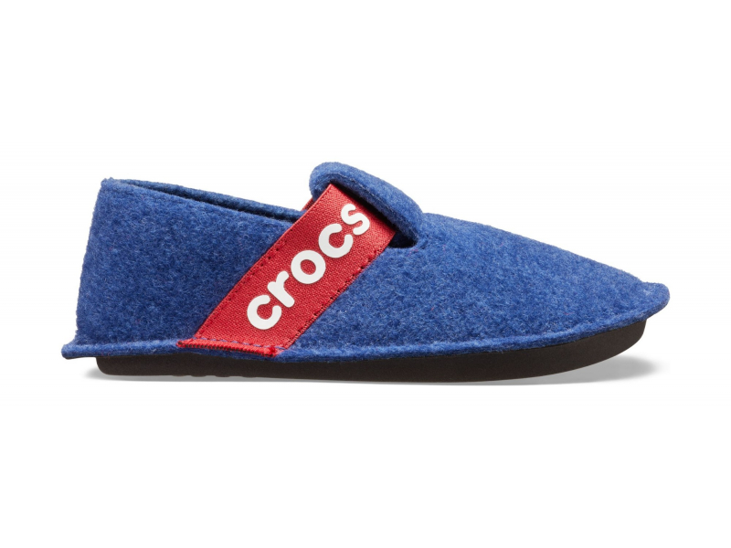 Crocs™ Kids' Classic Slipper Cerulean Blue