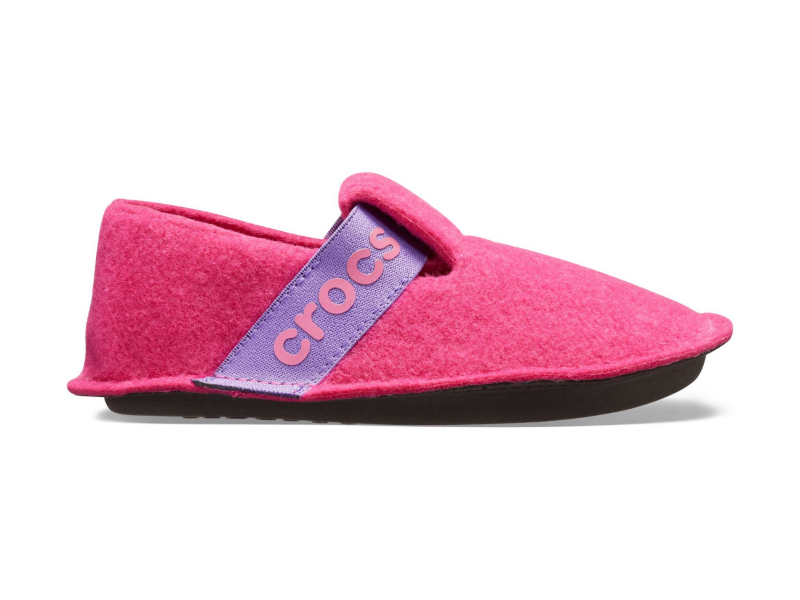 Crocs™ Kids' Classic Slipper Candy Pink