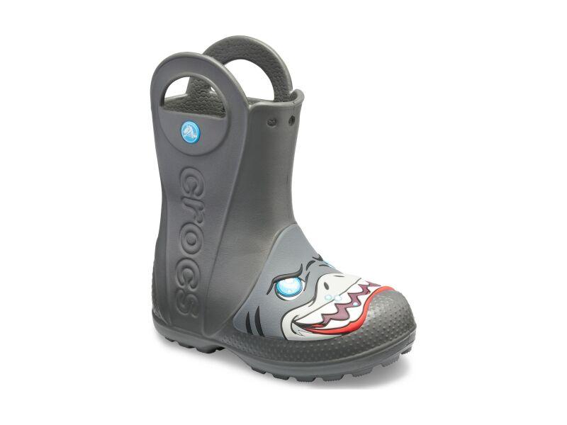 Crocs™ Kids' Crocs Funlab Creature Rain Boot Slate Grey