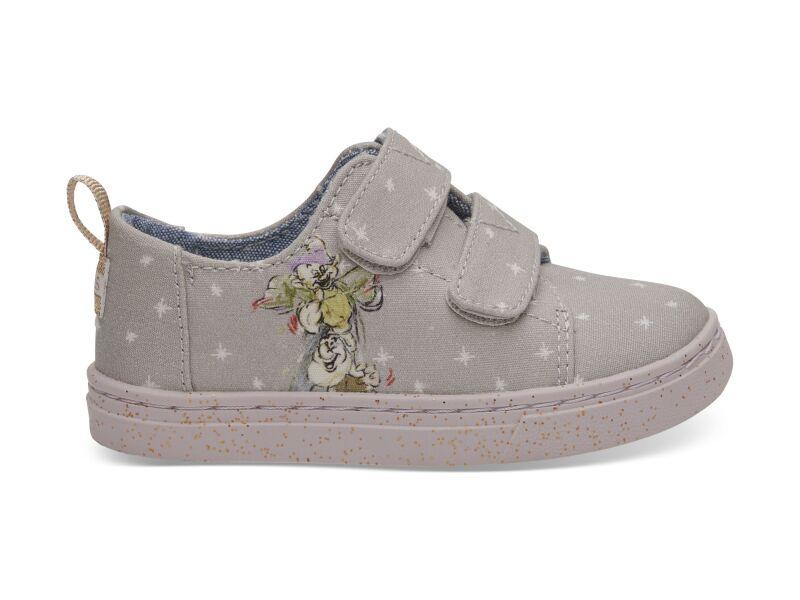 TOMS Seven Dwarfs Canvas Kid's Lenny Sneaker Grey