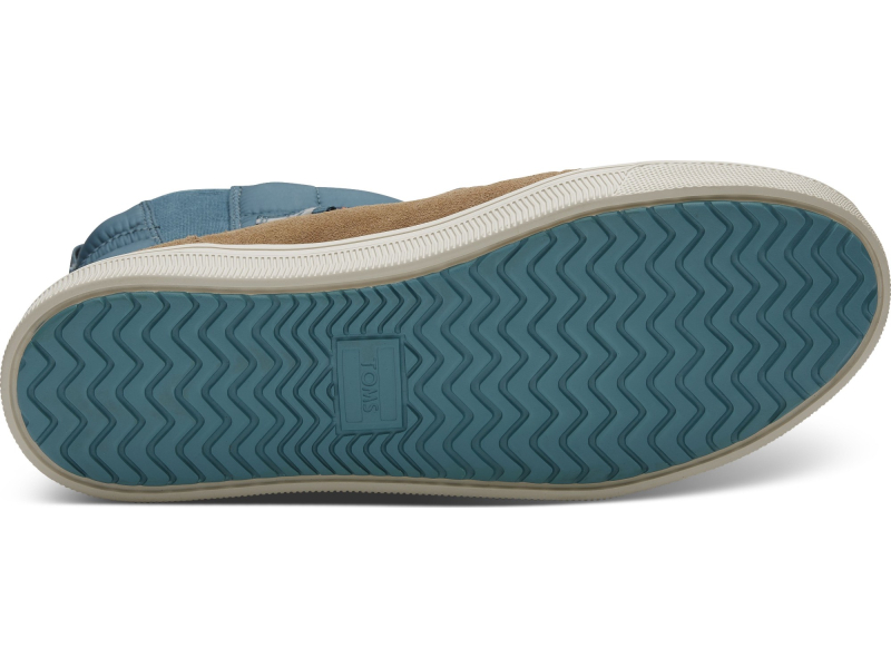 TOMS Quilted Suede Men's Trvl Lite Alpine Boot Stellar Blue