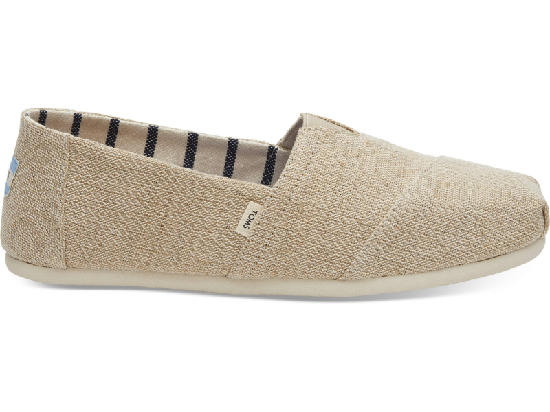 TOMS Heritage Canvas Men's Alpargata Unbleached