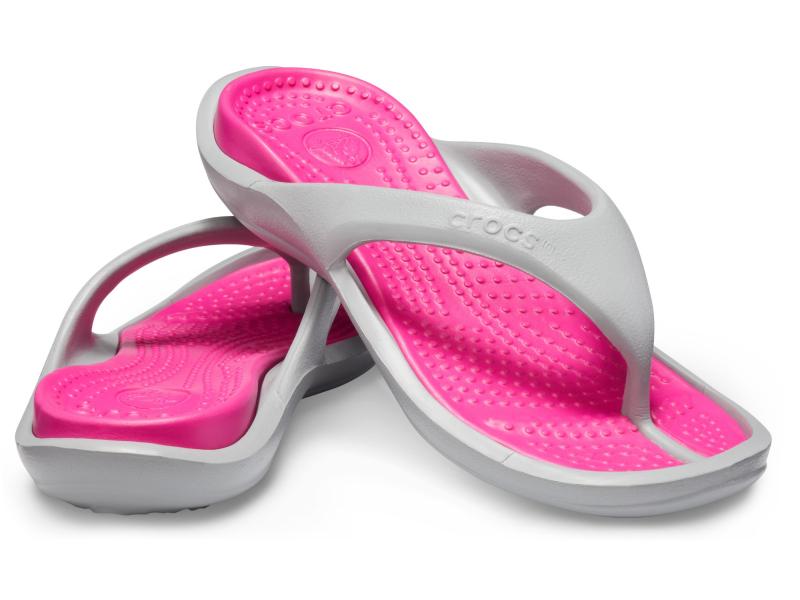 Crocs™ Athens II Light Grey/Candy Pink
