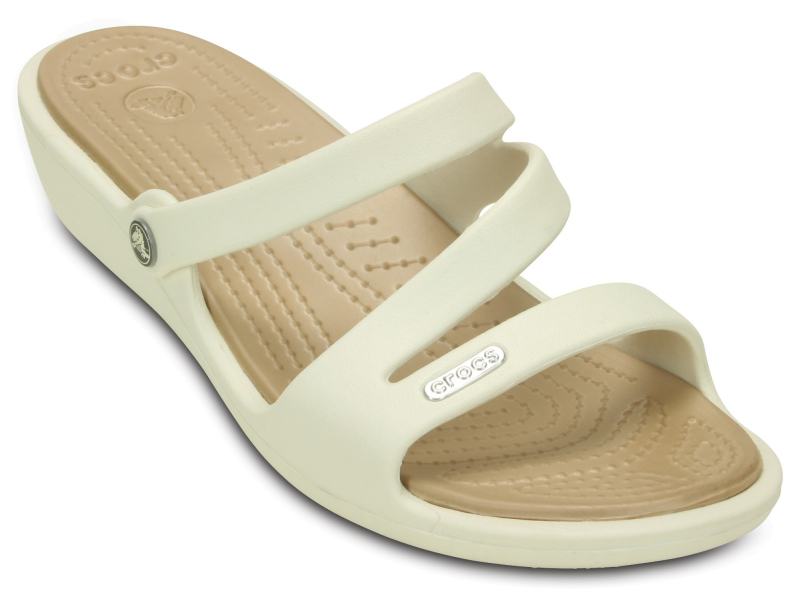 Crocs™ Patricia Oyster/Gold