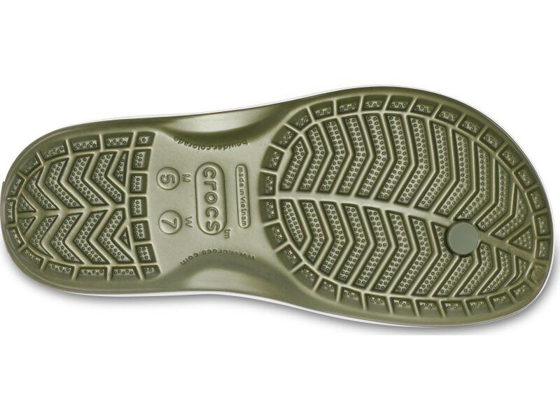 Crocs™ Crocband™ Flip Army Green/White