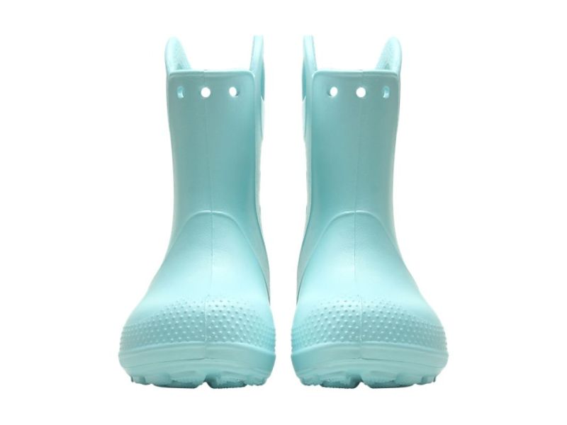 Crocs™ Kids' Handle It Rain Boot Ice Blue
