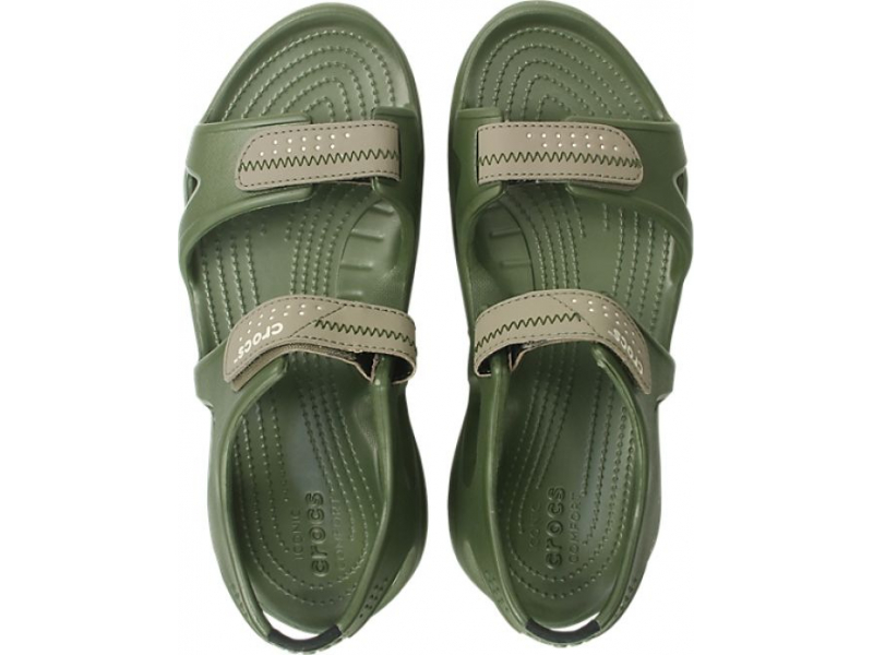 Crocs™ Swiftwater River Sandal Army Green/Khaki