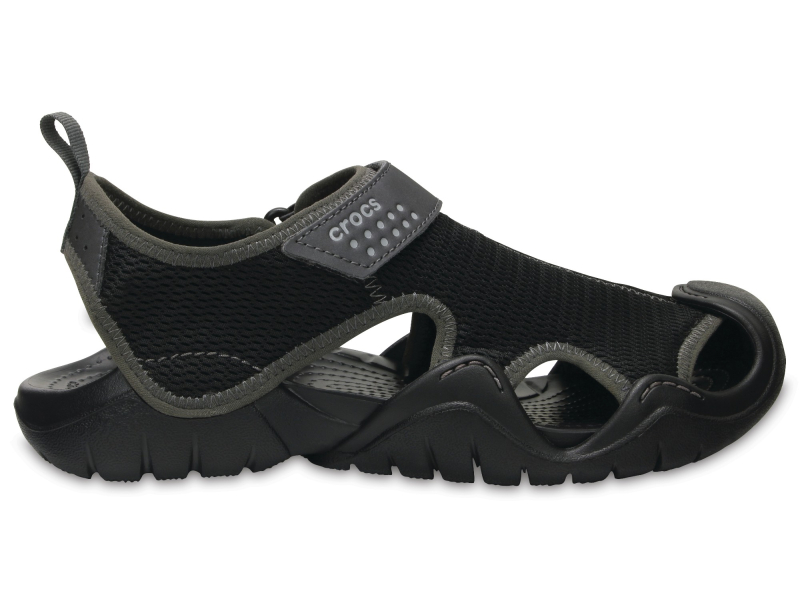 Crocs™ Swiftwater Outlet Sandals Black/Graphite