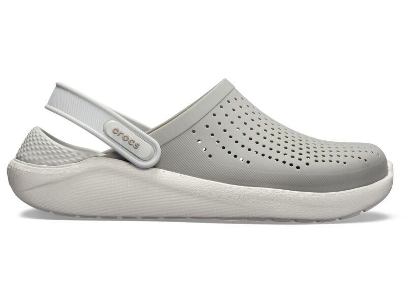 Crocs™ LiteRide Clog Smoke/Pearl White