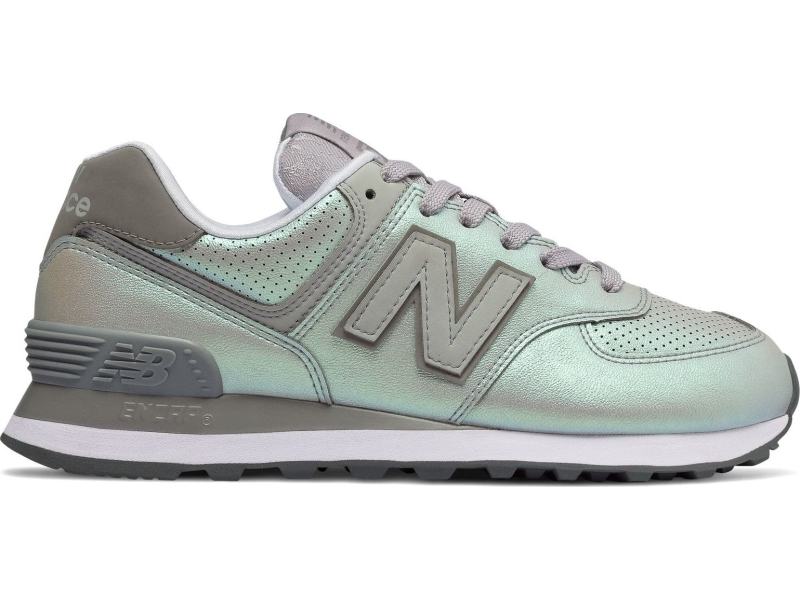 New Balance WL574 Sheen Rain Cloud