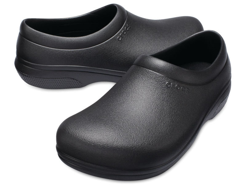 Crocs™ On The Clock Work Slip-On Black