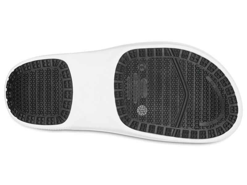 Crocs™ On The Clock Work Slip-On White