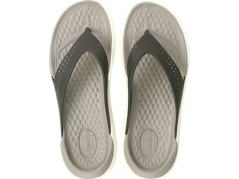 Crocs™ LiteRide Flip Black/Smoke