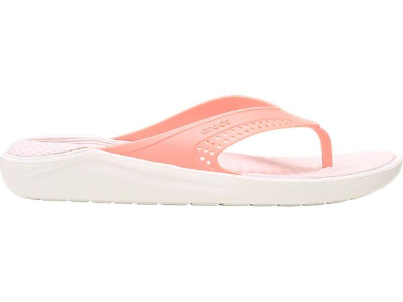 Crocs™ LiteRide Flip Melon/White