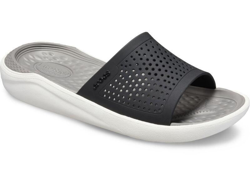 Crocs™ LiteRide Slide Black/Smoke